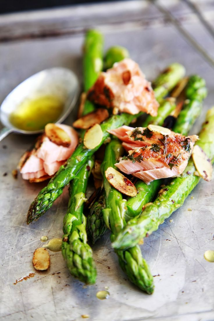 Salmon and Asparagus - The Style Scribe