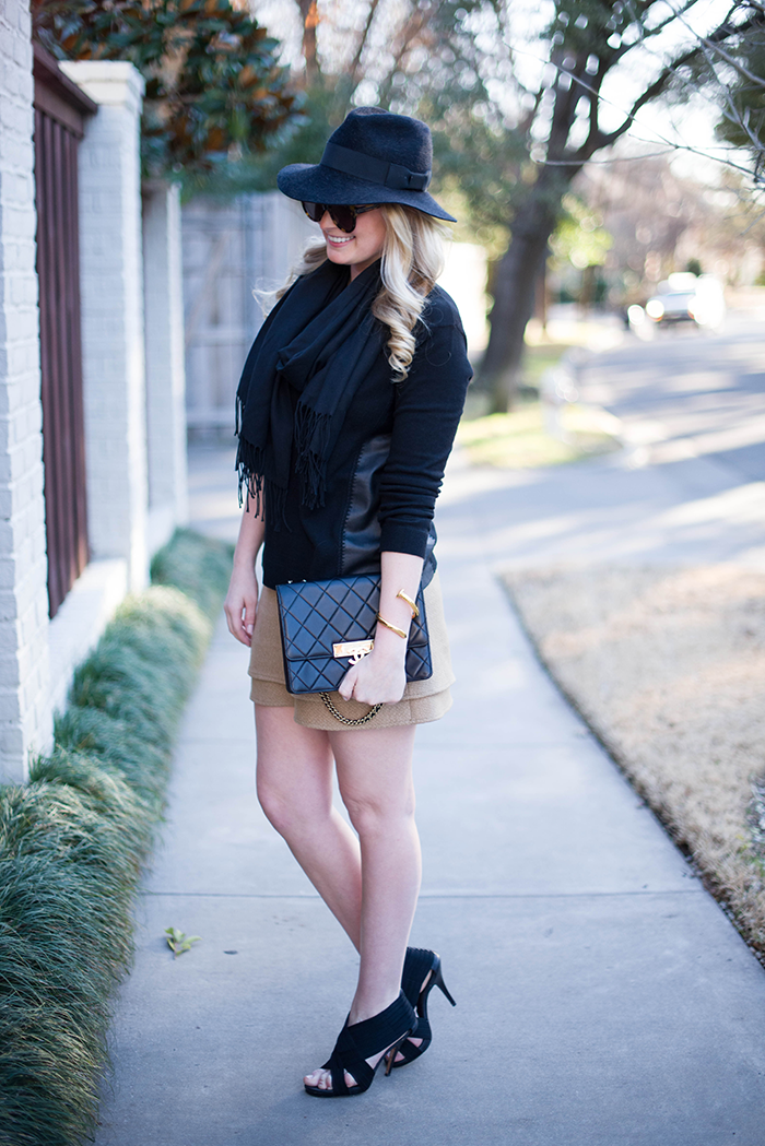 Leather Sweater | The Style Scribe