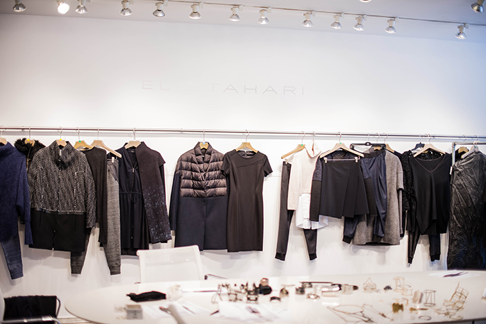 Behind The Scenes, Elie Tahari Fall 2014 Collection | The Style Scribe
