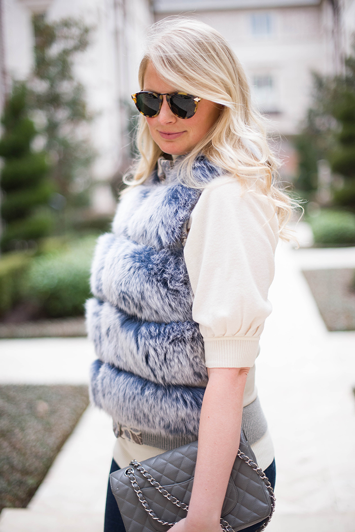 Timo Weiland Fur Vest | The Style Scribe
