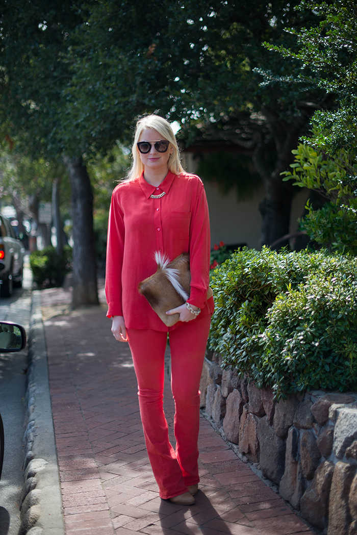 Head To Toe Red The Style Scribe