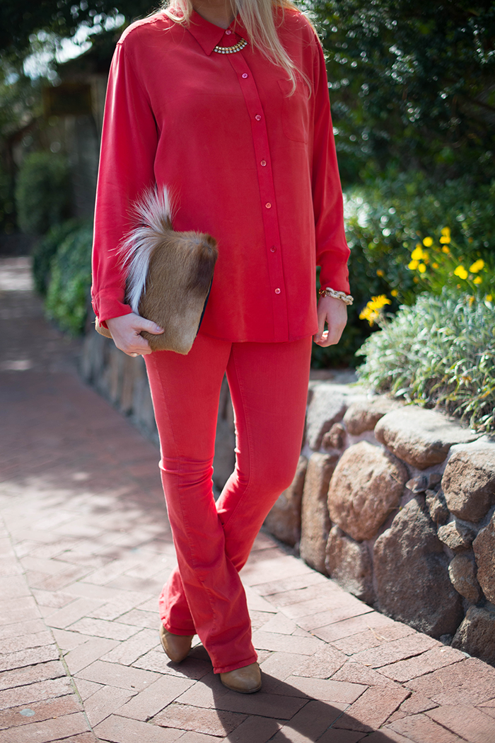 Head To Toe Red | The Style Scribe