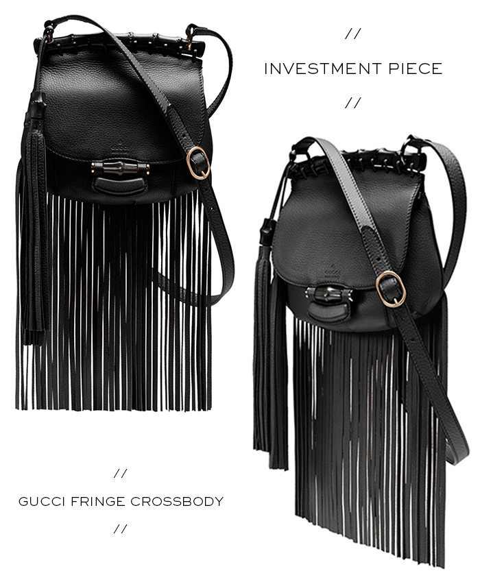 Investment Piece // Gucci Fringe Crossbody | The Style Scribe