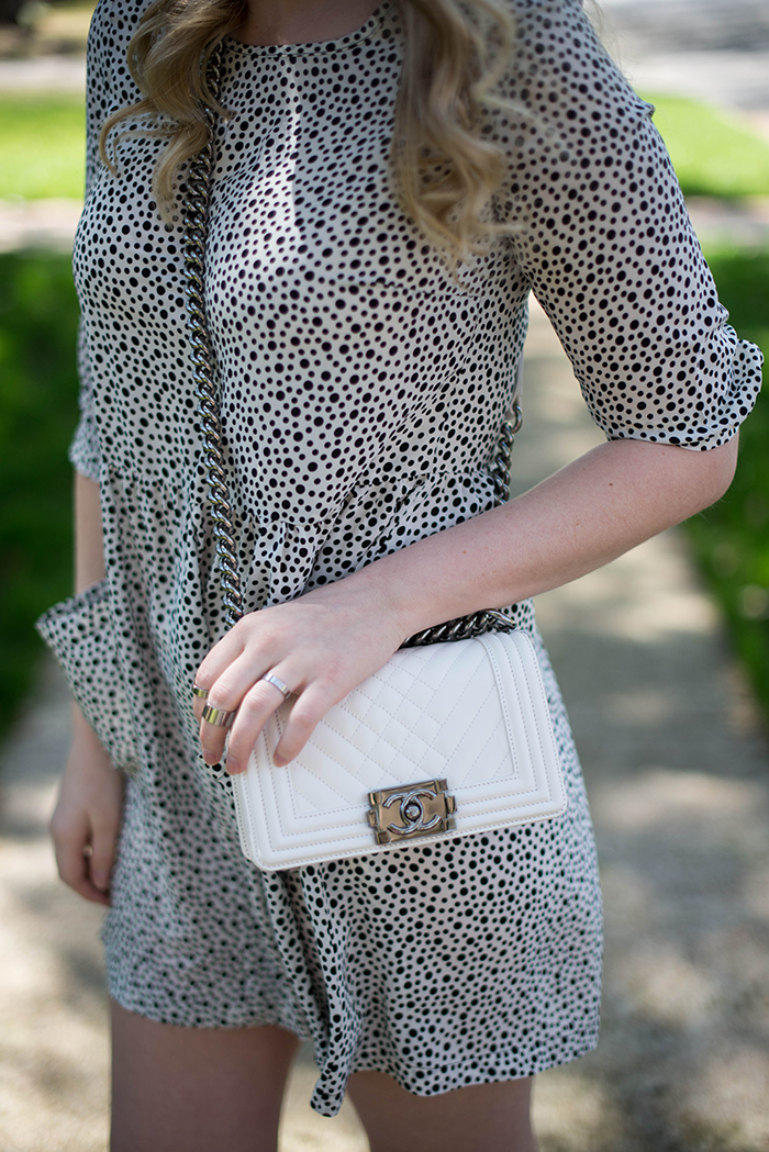 OTTE Morgan Dress, Chanel Boy Bag | The Style Scribe