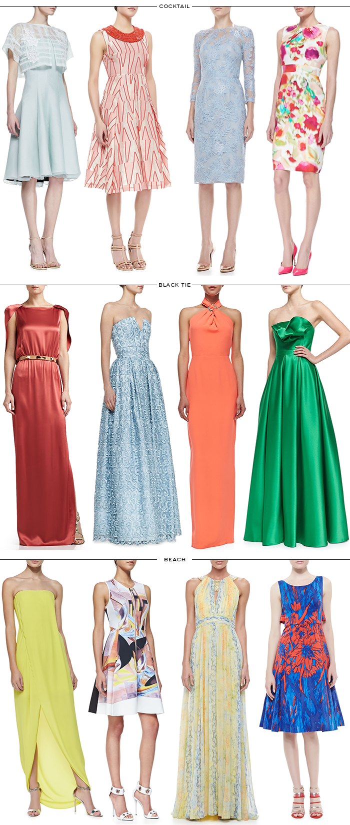 Spring / Summer Wedding Wardrobe | The Style Scribe
