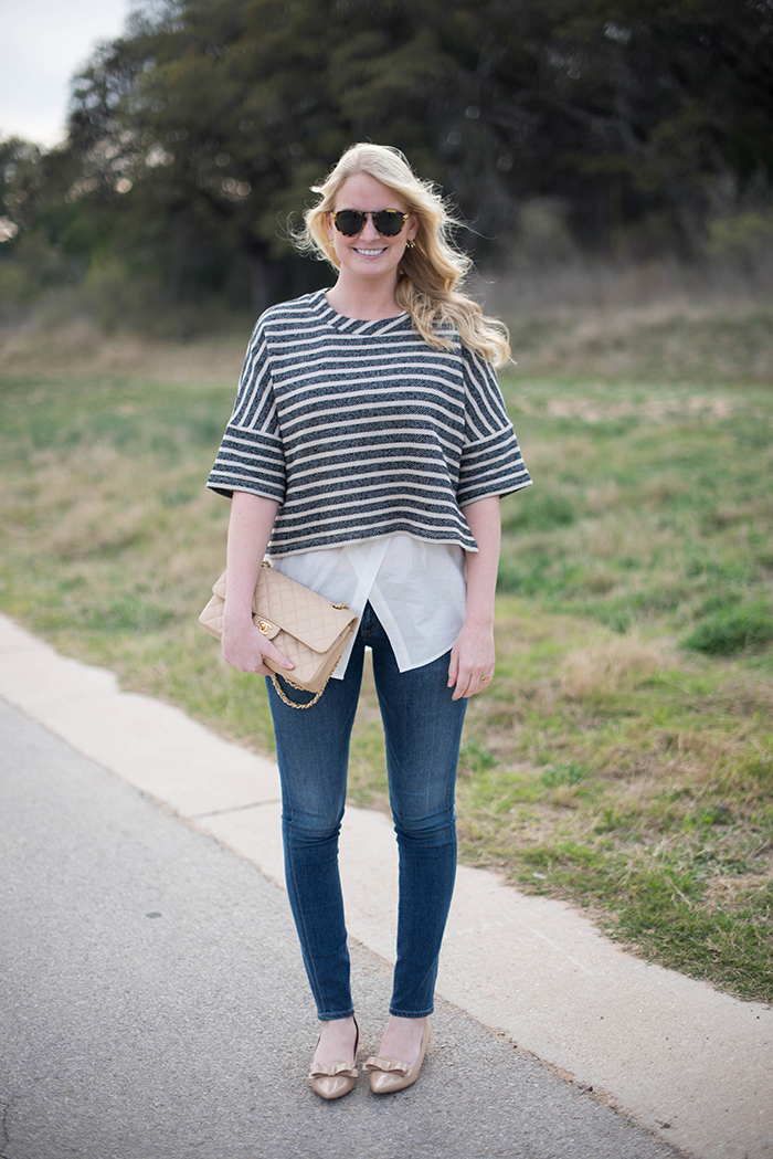 Weekend Casual in 10 Crosby Derek Lam | The Style Scribe