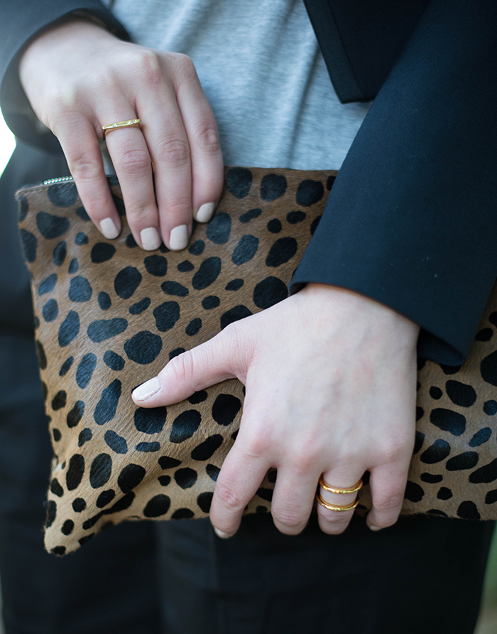 Inspired By The Boys // Clare Vivier Clutch