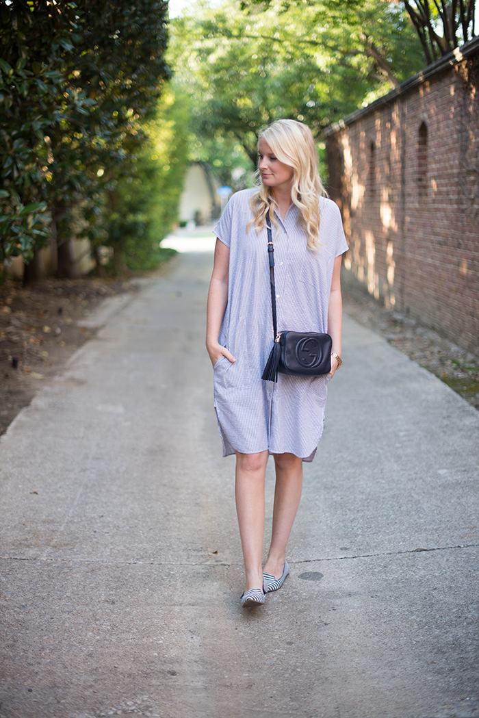 Seersucker Dress | The Style Scribe