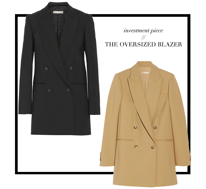 Investment Piece | The Oversized Blazer