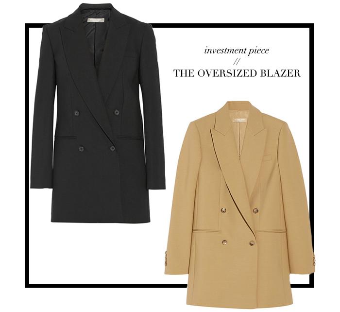 Investment Piece   The Oversized Blazer