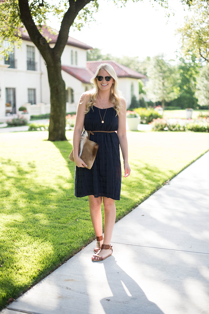 J.Crew Pintuck Dress | The Style Scribe