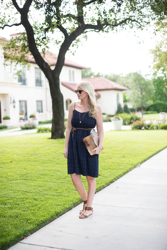 J.Crew Pintuck Sundress | The Style Scribe