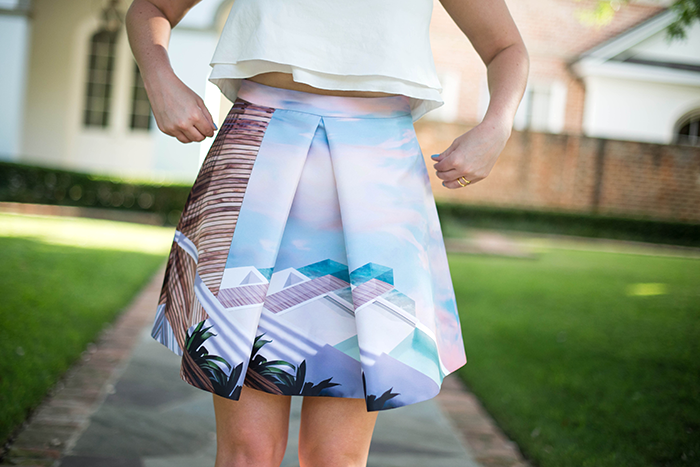 Mary Katrantzou Skirt | The Style Scribe