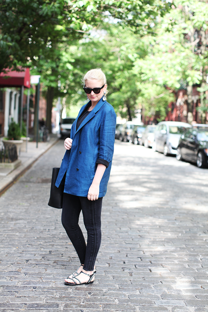 T by Alexander Wang Blazer | The Style Scribe