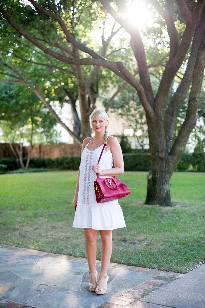 Summer Uniform // Old Navy White Dress | The Style Scribe