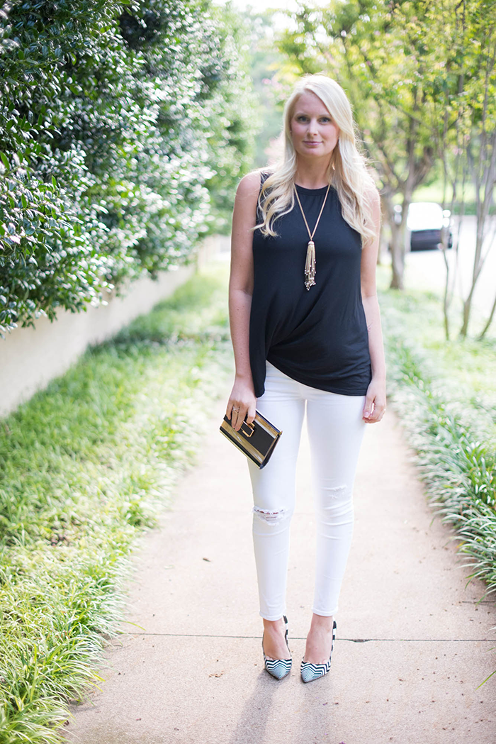 Sen Tania Top + J Brand Jeans | The Style Scribe