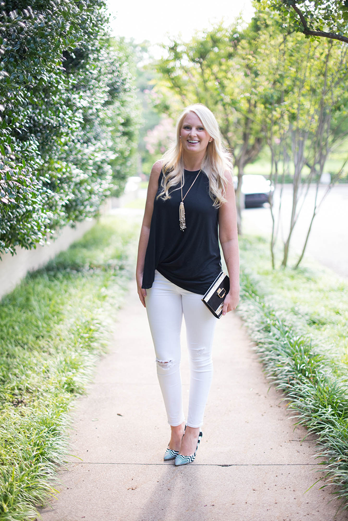 Sen Tania Top + J Brand Jeans   The Style Scribe