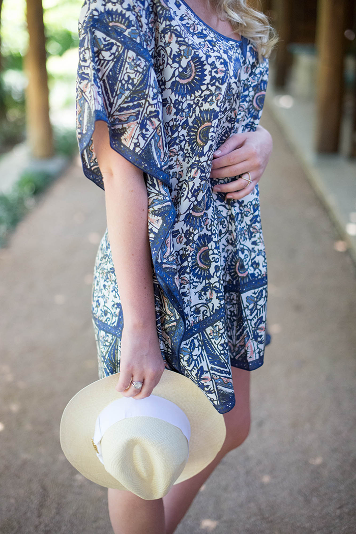 Tory Burch Grosgrain Fedora | The Style Scribe