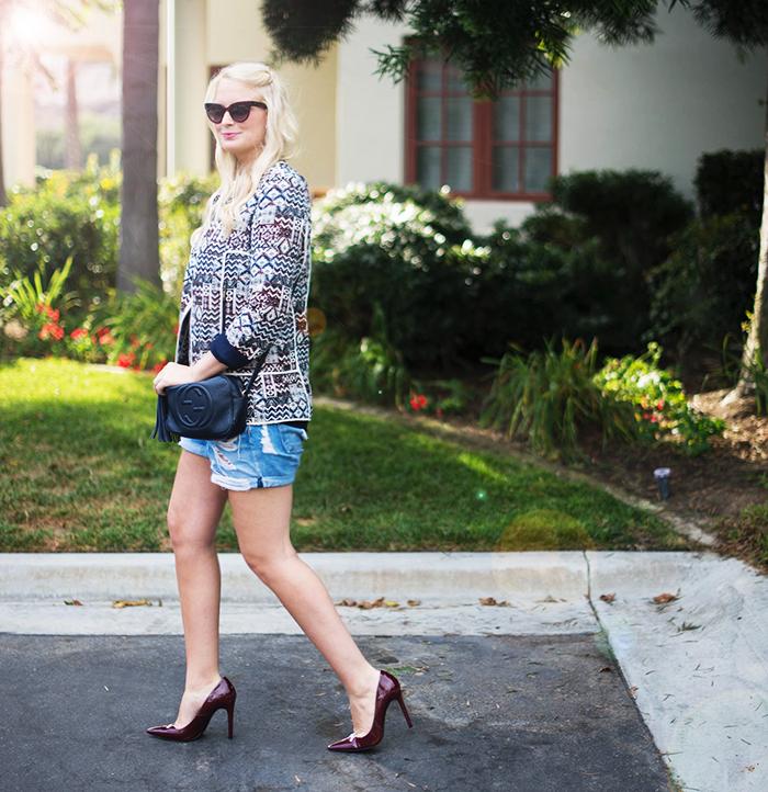 Zara Printed Jacket | The Style Scribe