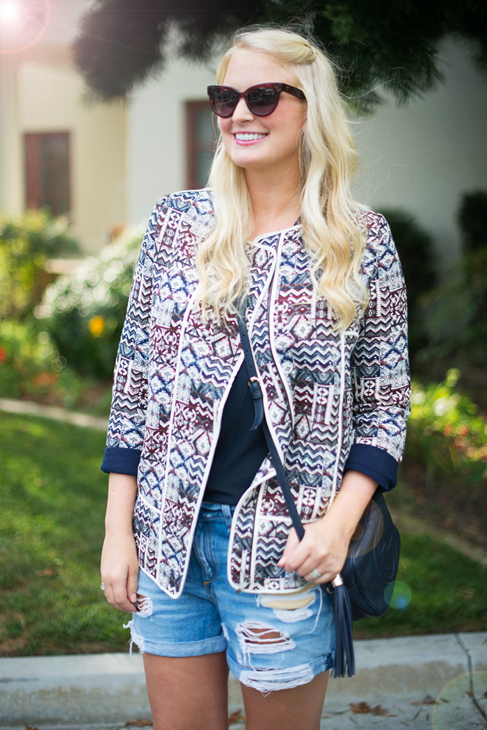 Zara Printed Jacket | The Style Scribe