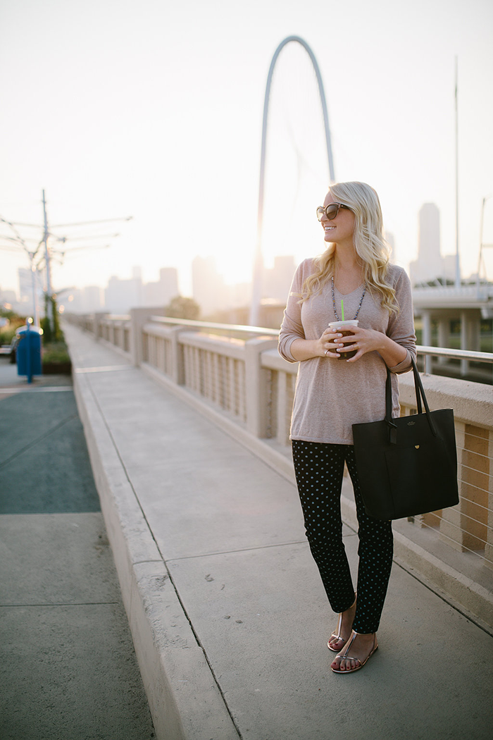 Dallas Suspension Bridge | The Style Scribe