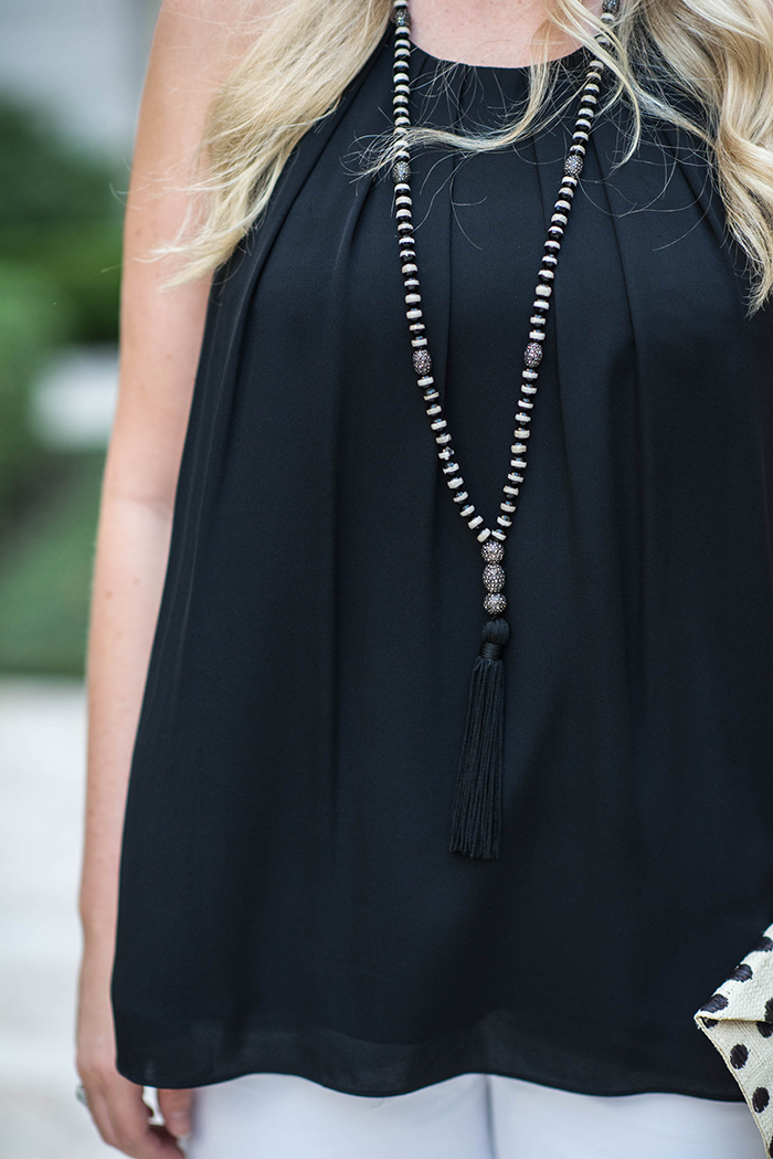 Hipchik Beaded Tassel Necklace | The Style Scribe