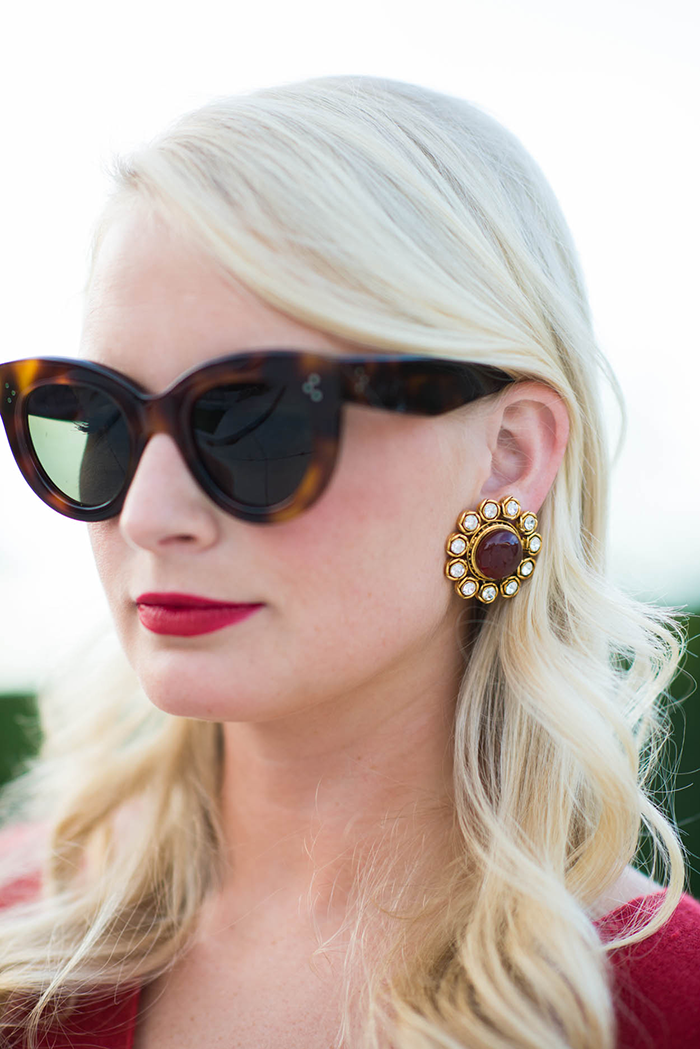 The Real Real Vintage Chanel Earrings | The Style Scribe