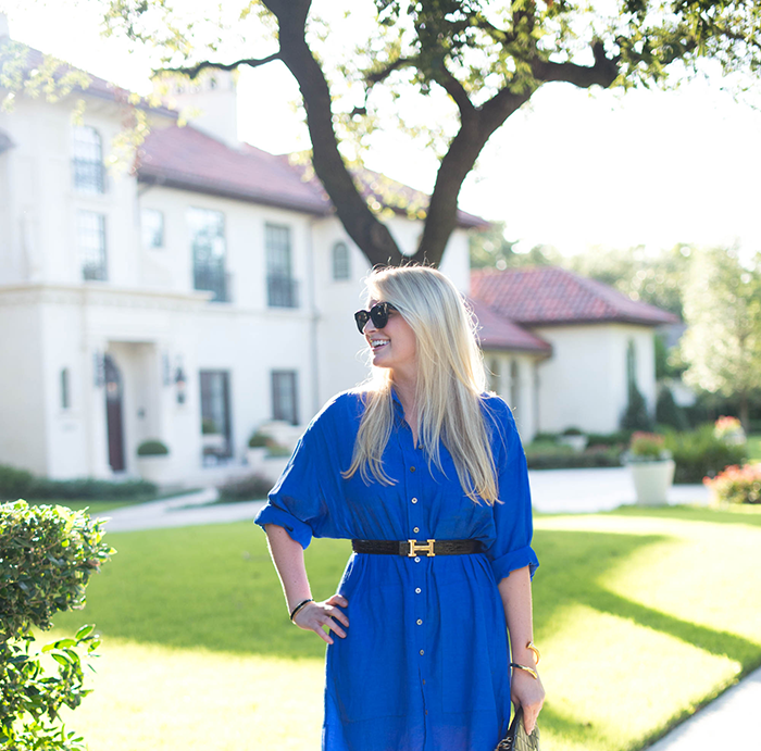 Classic in Cobalt | The Style Scribe