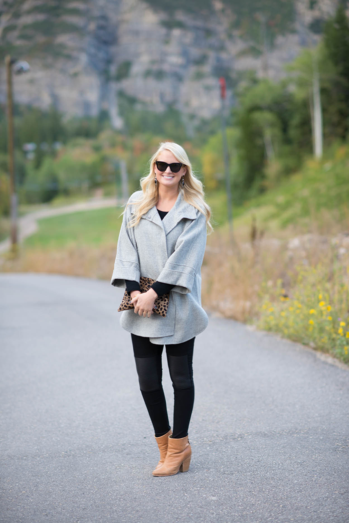 Weekend Max Mara Coat, Sundance Utah | The Style Scribe