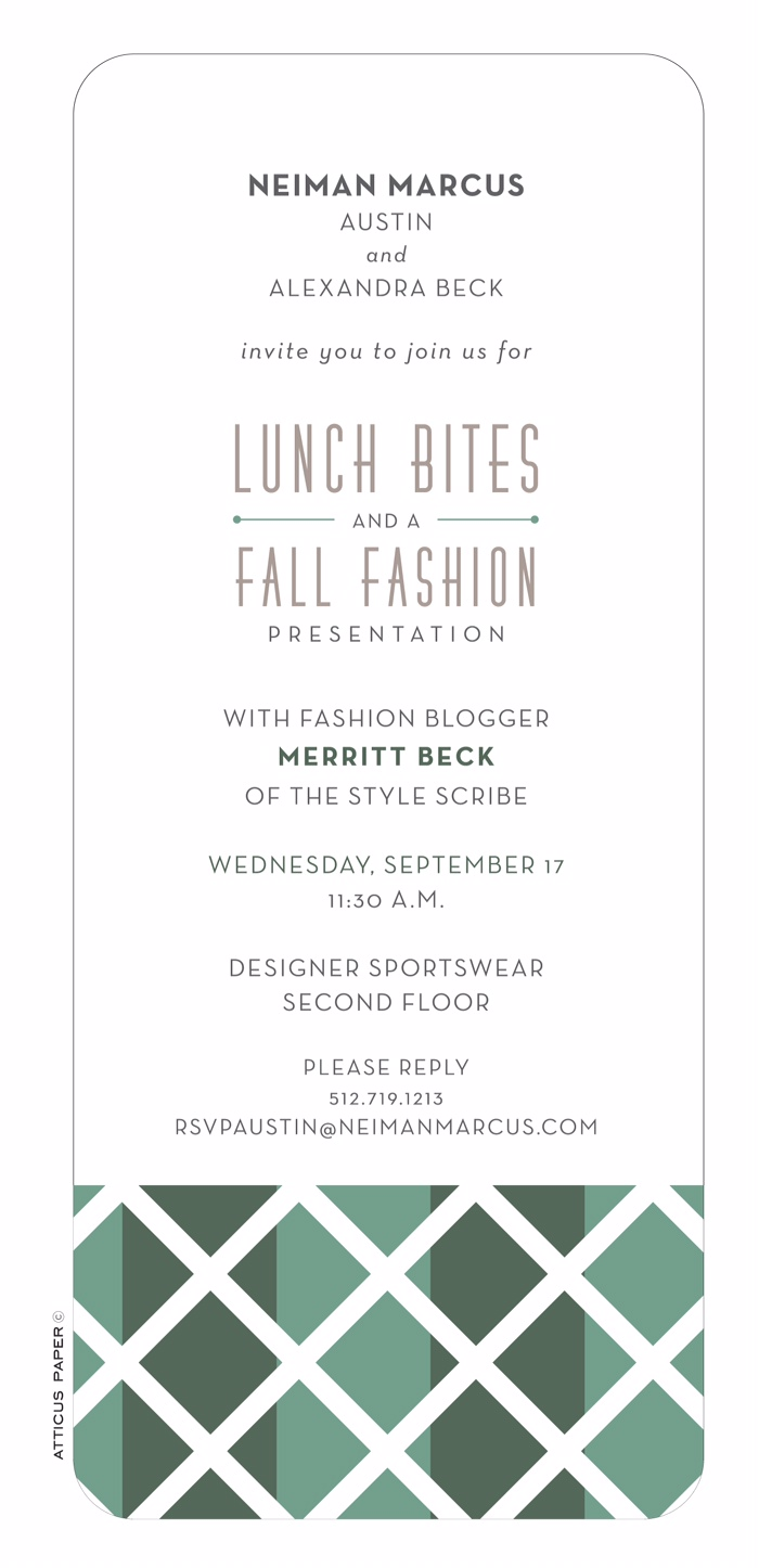 Neiman Marcus Austin Event   The Style Scribe