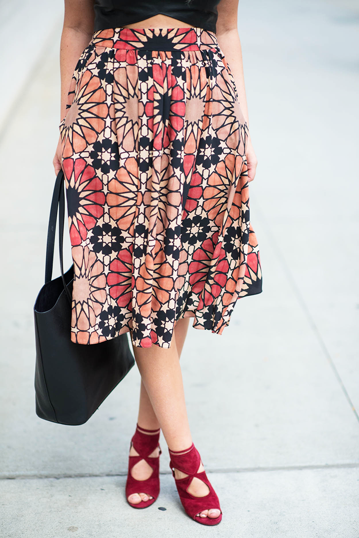 Morgan Carper Skirt, New York Fashion Week | The Style Scribe