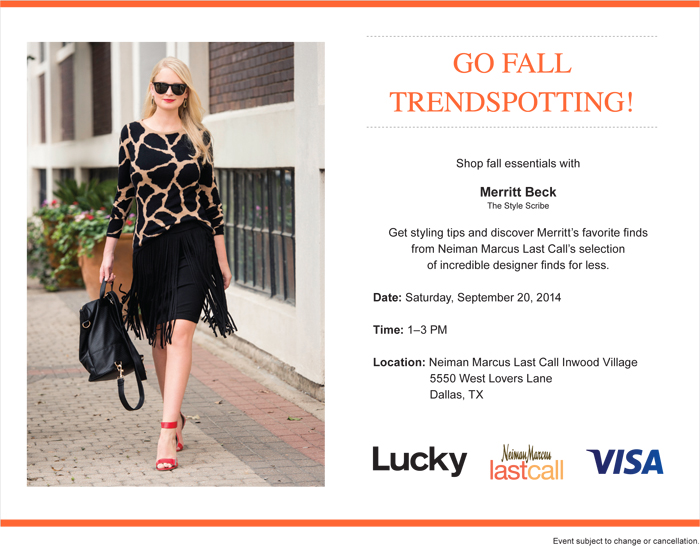 Neiman Marcus Last Call Studio Event | The Style Scribe