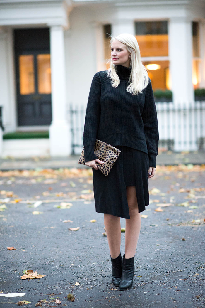 Black Aritzia Sweater | The Style Scribe