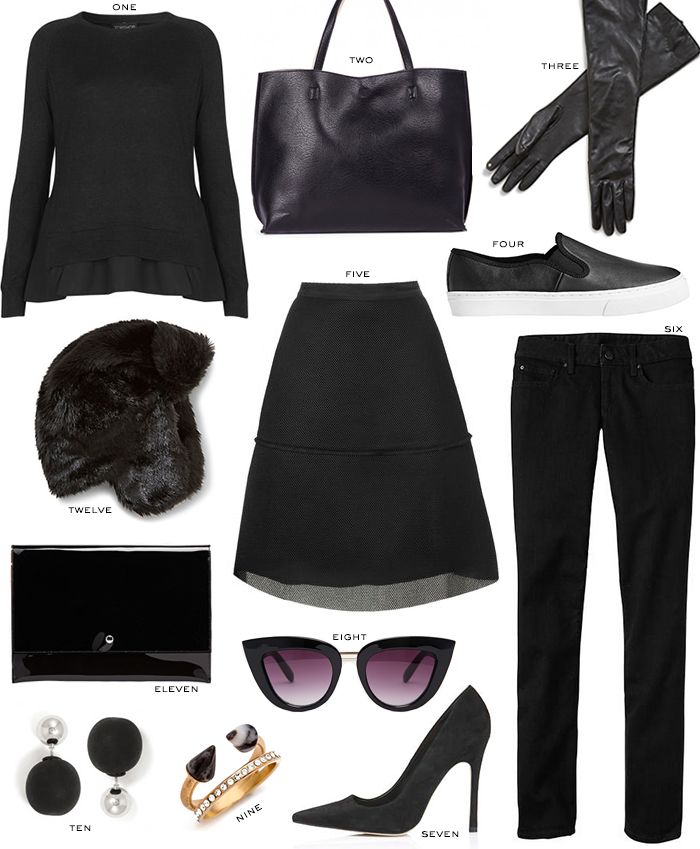 Black Basics Under $100 | The Style Scribe