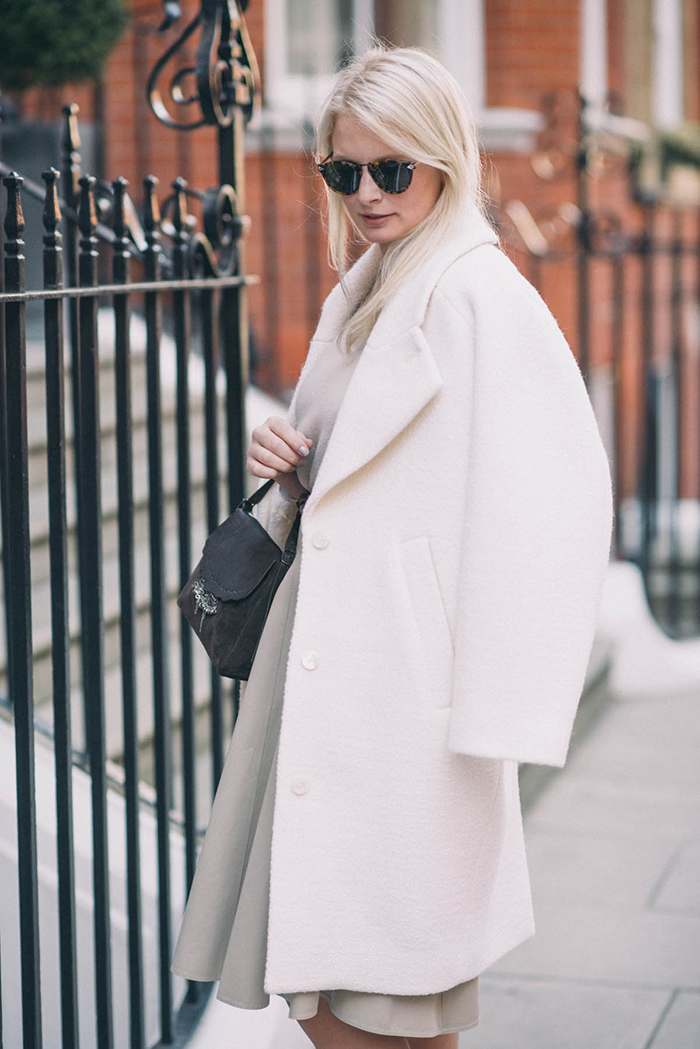 Carven Oversized Coat, Farfetch | The Style Scribe