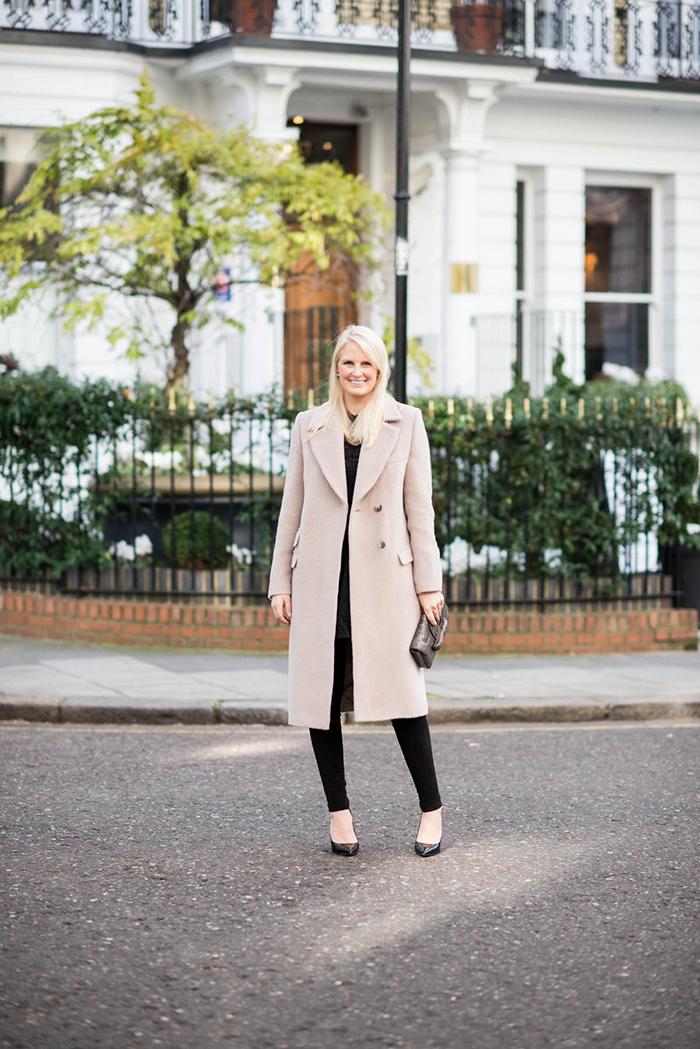 Iris & Ink Coat, The Outnet | The Style Scribe