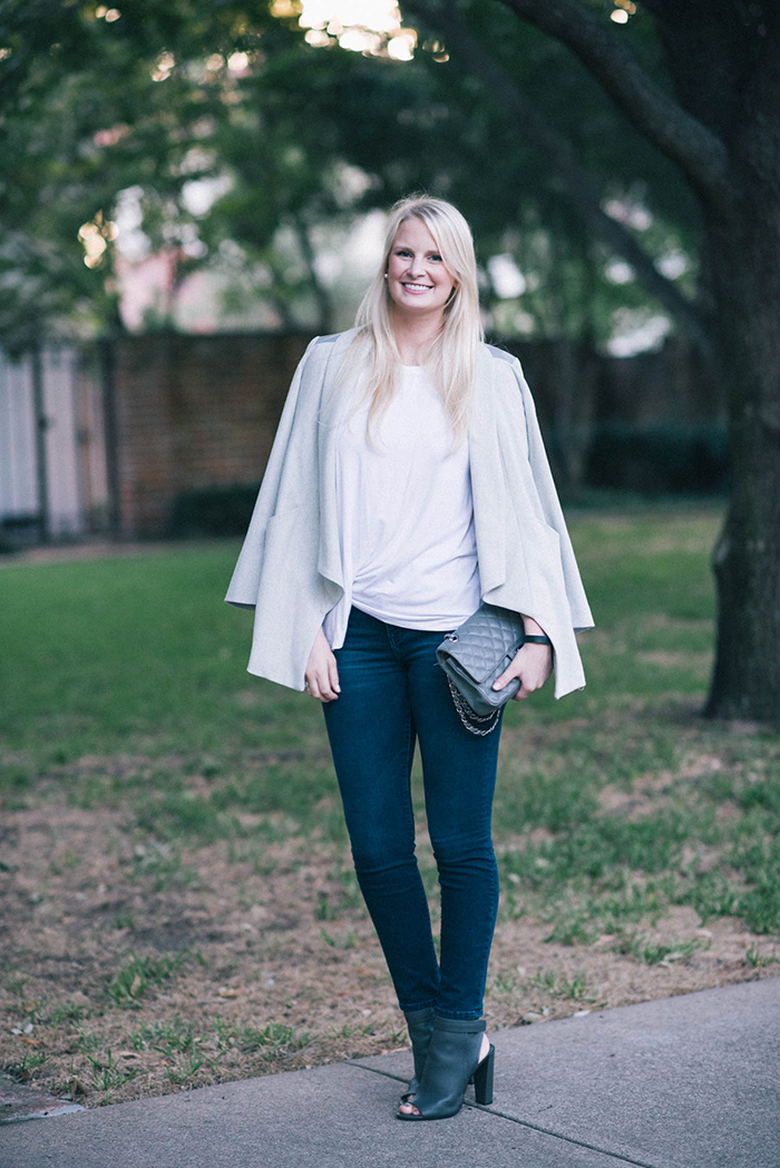 Morgan James Drape Jacket | The Style Scribe