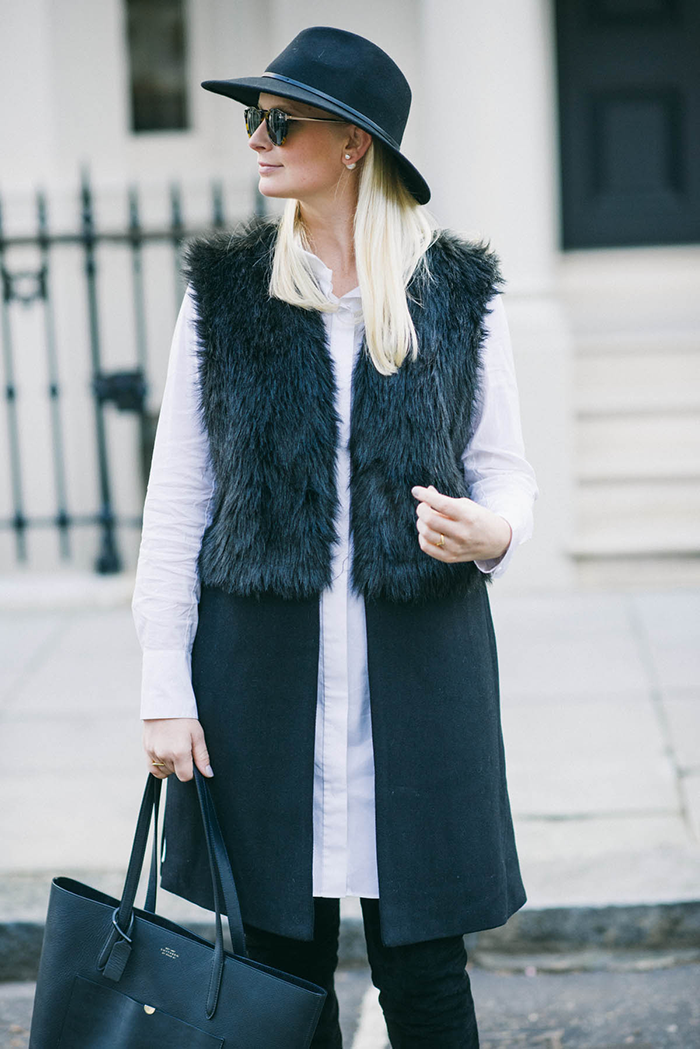 Nasty Gal Faux Fur Vest | The Style Scribe