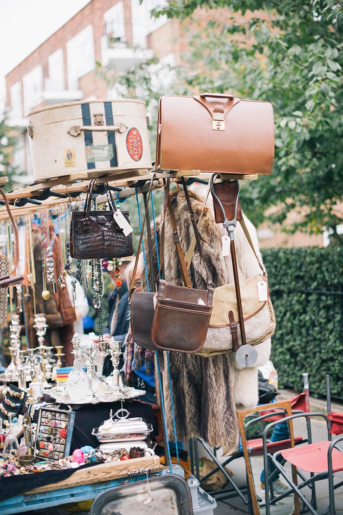 Portobello Market, London | The Style Scribe