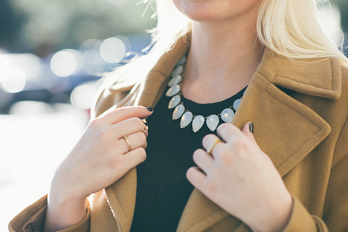 BaubleBar Gum Drop Strand Necklace | The Style Scribe