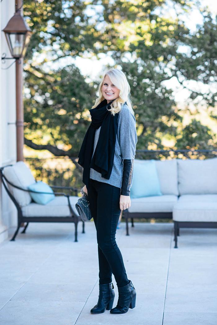 Heidi Wynne Cashmere Scarf | The Style Scribe