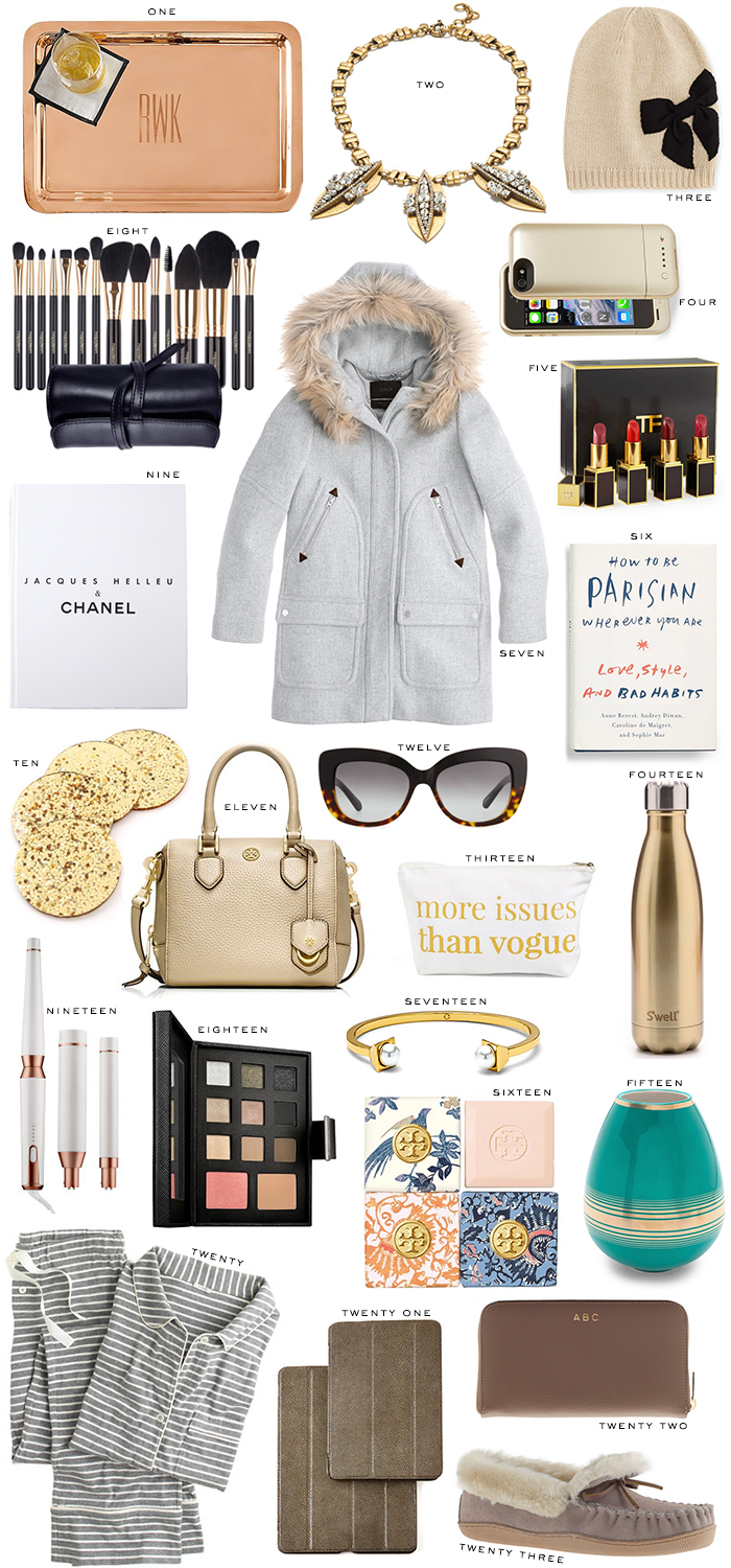 Holiday Gift Guide // For Her | The Style Scribe