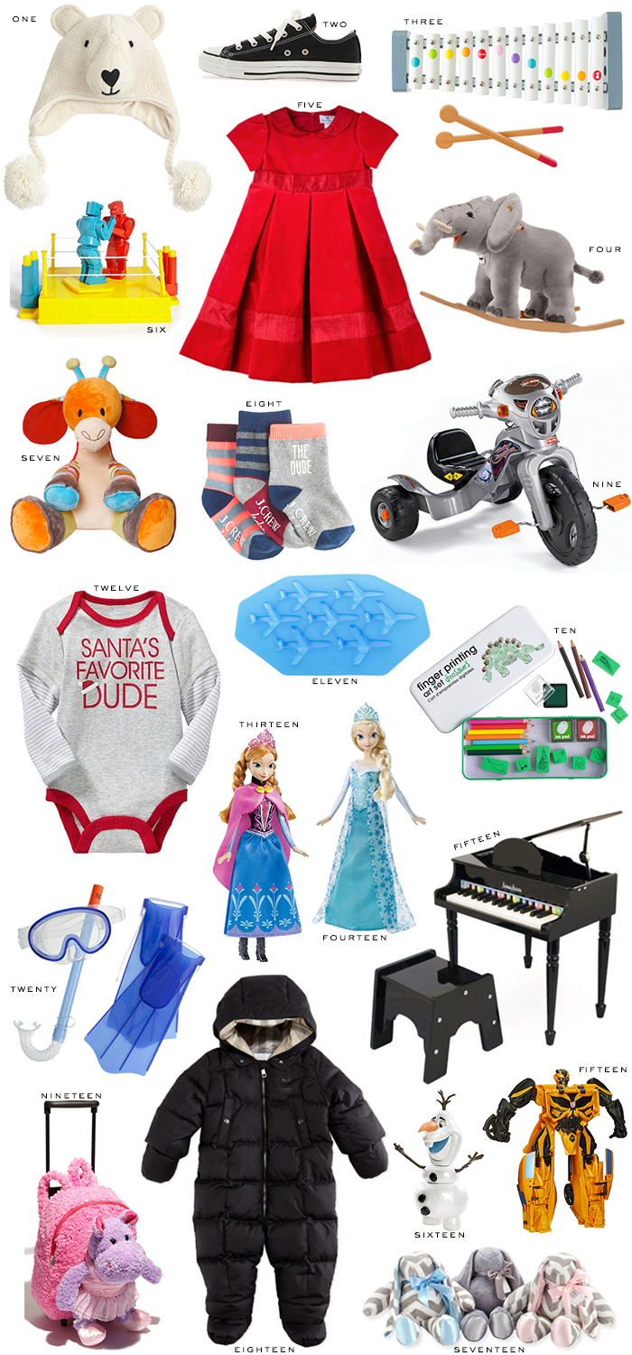 Holiday Gift Guide // For Kids | The Style Scribe