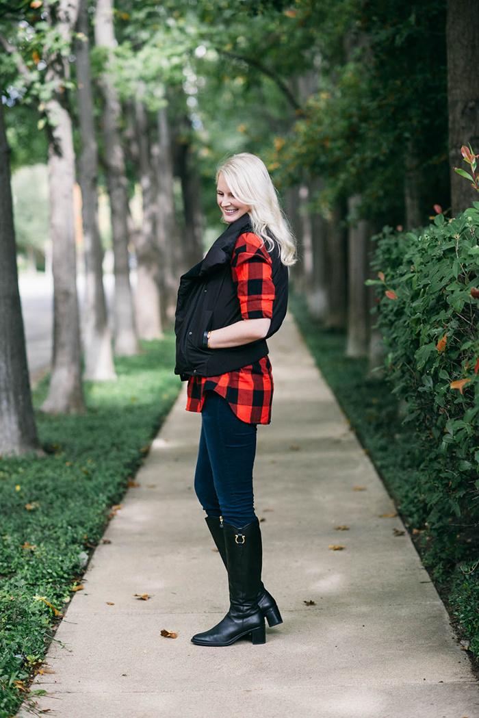 Old Navy Plaid Flannel Shirt | The Style Scribe