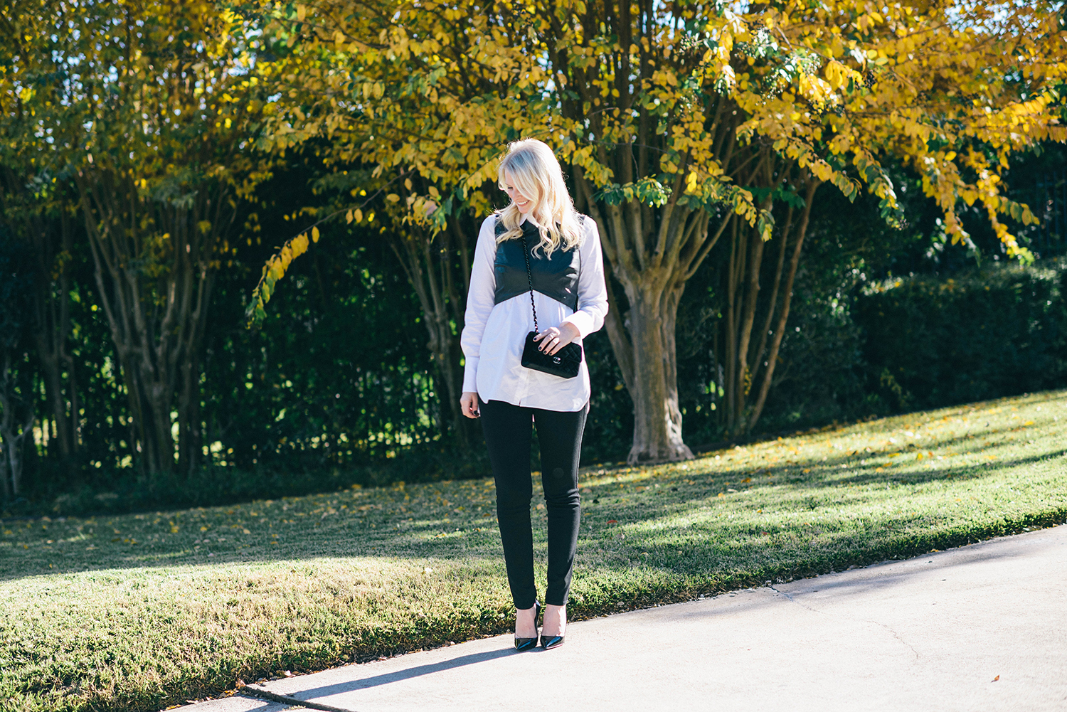 Velvet Chanel Flap Bag | The Style Scribe