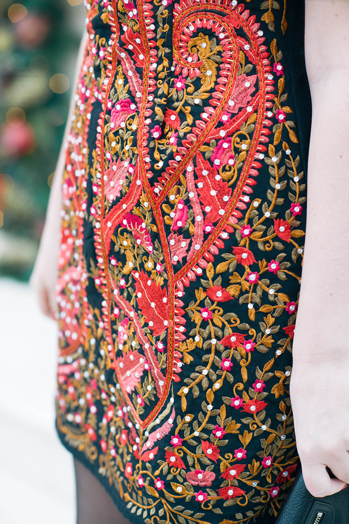 ASOS Embroidered Dress | The Style Scribe