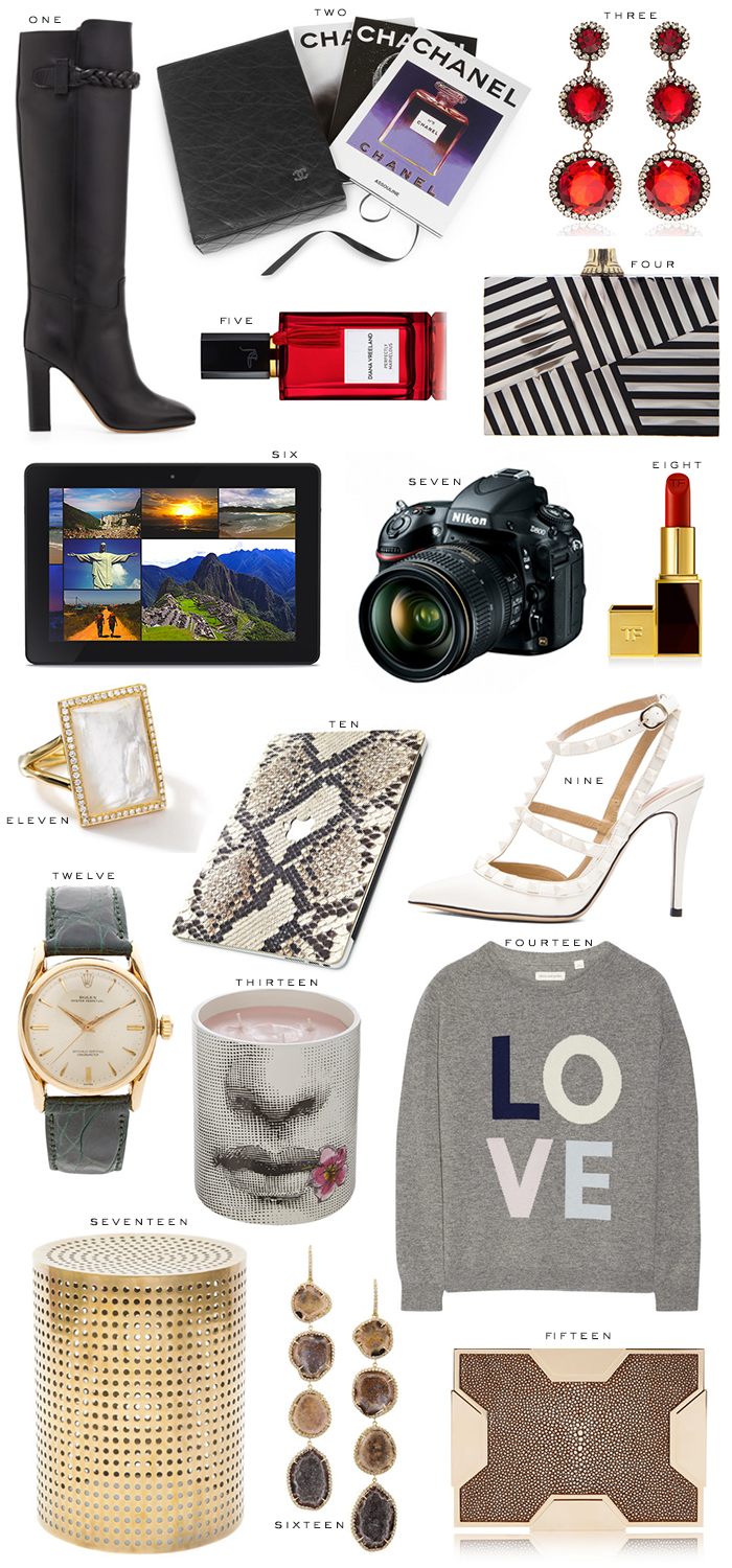Holiday Gift Guide // Luxury Gifts   The Style Scribe