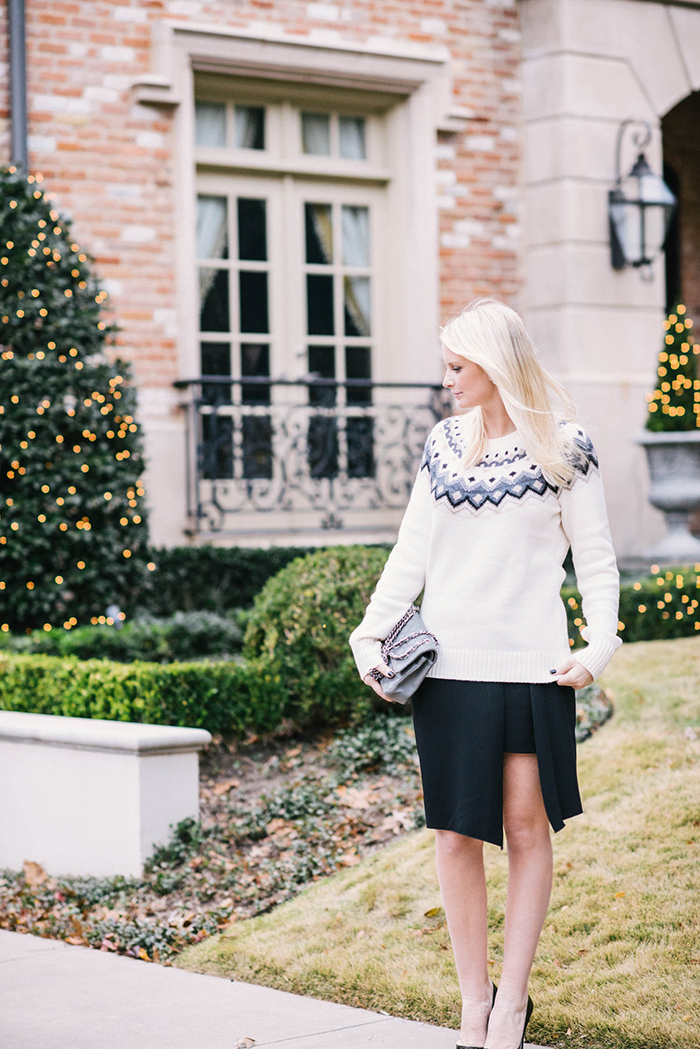 Old Navy Fair Isle Sweater | The Style Scribe