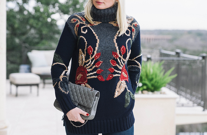 Tory Burch Rianna Sweater | The Style Scribe