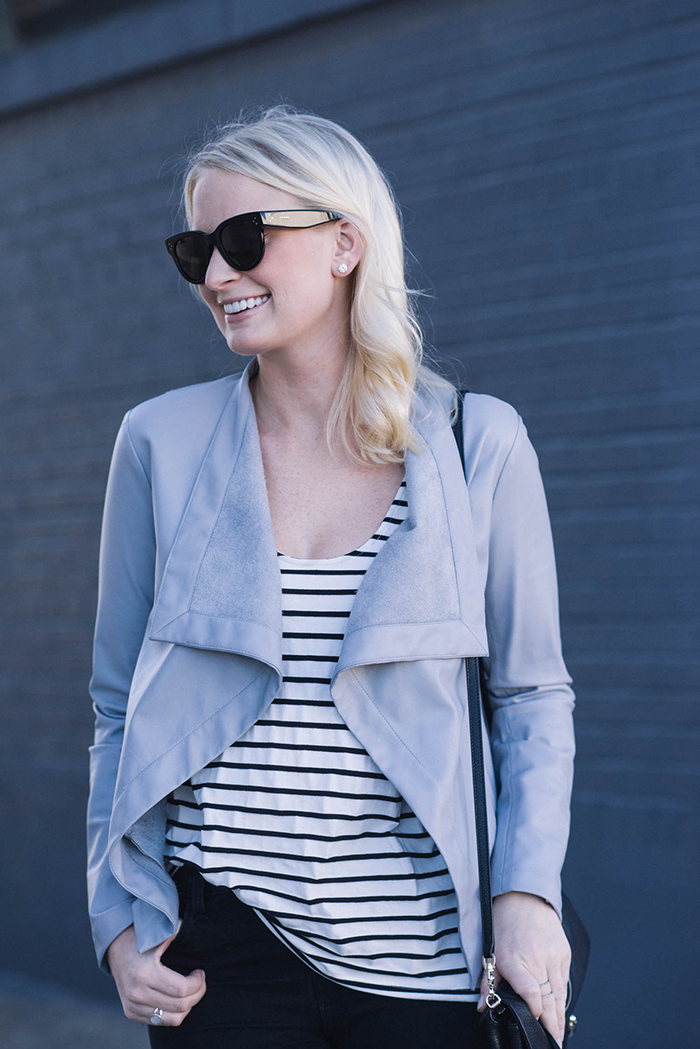 BB Dakota Lillian Drapey Front Jacket | The Style Scribe